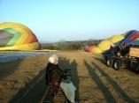 Princess Ruth's 95th birthday hot air balloon ride