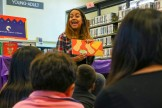 Author Patty Rodriguez at Robert Louis Stevenson Branch Library