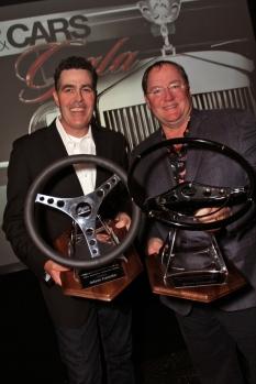 Adam Carolla and John Lasseter